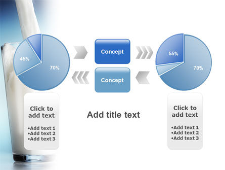 Glass Full Of Milk PowerPoint Template Slide 11