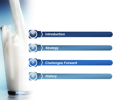Glass Full Of Milk PowerPoint Template Slide 3