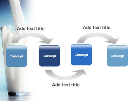 Glass Full Of Milk PowerPoint Template Slide 4