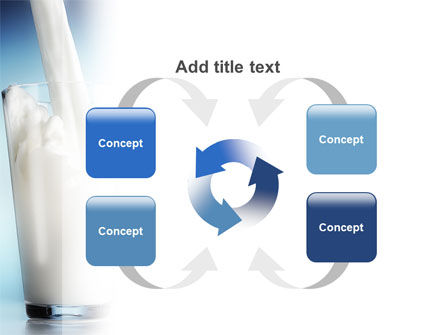 Glass Full Of Milk PowerPoint Template Slide 6