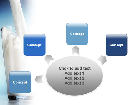 Glass Full Of Milk PowerPoint Template Slide 7