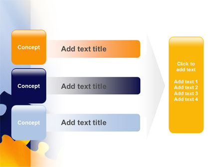 Pieces of Puzzle PowerPoint Template Slide 12