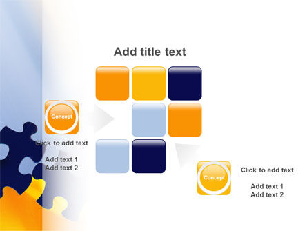Pieces of Puzzle PowerPoint Template Slide 16