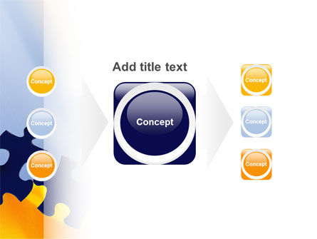 Pieces of Puzzle PowerPoint Template Slide 17