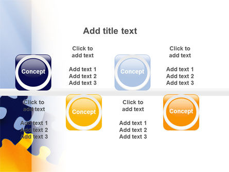 Pieces of Puzzle PowerPoint Template Slide 19
