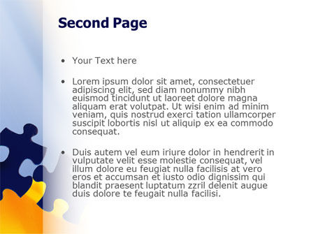 Pieces of Puzzle PowerPoint Template Slide 2