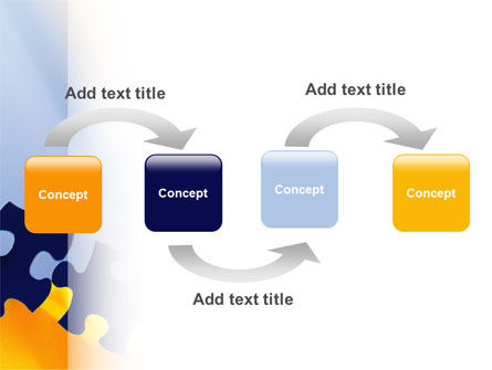 Pieces of Puzzle PowerPoint Template Slide 4