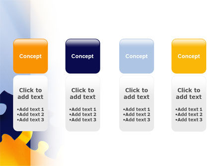 Pieces of Puzzle PowerPoint Template Slide 5
