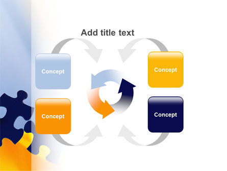 Pieces of Puzzle PowerPoint Template Slide 6