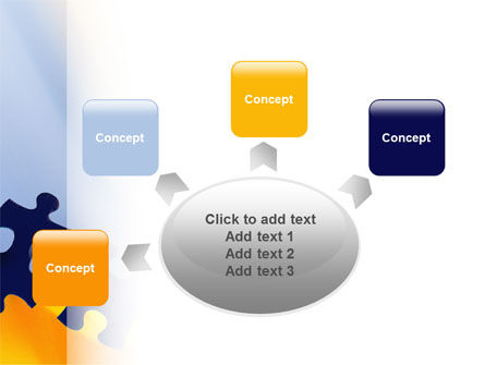 Pieces of Puzzle PowerPoint Template Slide 7