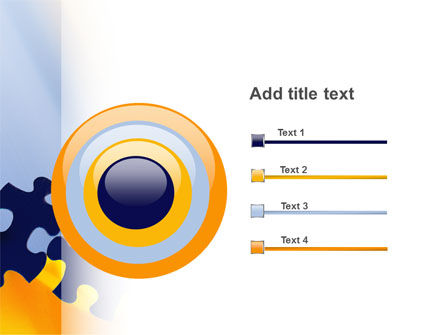 Pieces of Puzzle PowerPoint Template Slide 9