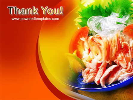 Exotic Food Restaurant Menu PowerPoint Template Slide 20