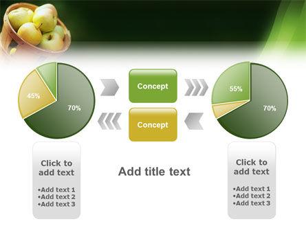 Basket of Apples PowerPoint Template Slide 11