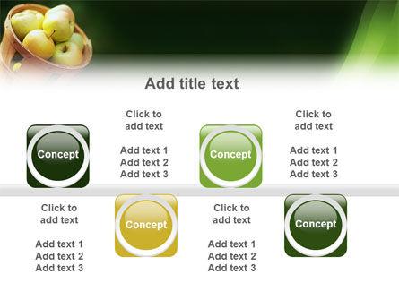 Basket of Apples PowerPoint Template Slide 19