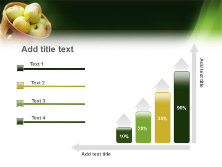 Basket of Apples PowerPoint Template Slide 8