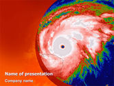 Nature & Environment: Cyclone PowerPoint Template #02433