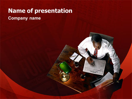 Investment Consulting PowerPoint Template, 02434, Financial/Accounting — PoweredTemplate.com