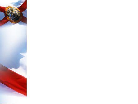 Flag of Florida PowerPoint Template, Slide 3, 02436, Flags/International — PoweredTemplate.com