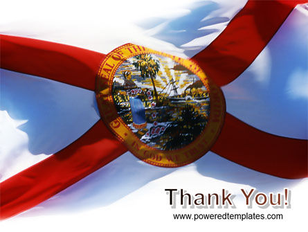 Flag of Florida PowerPoint Template Slide 20