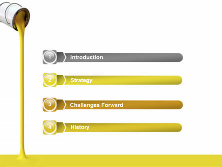 Yellow Paint PowerPoint Template Slide 3