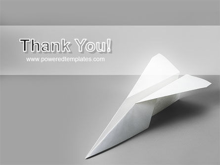 Paper Airplane PowerPoint Template Slide 20
