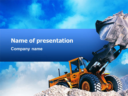 Loading PowerPoint Template, 02443, Utilities/Industrial — PoweredTemplate.com