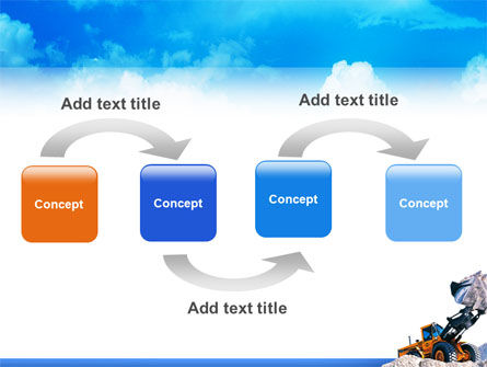 Loading PowerPoint Template, Slide 4, 02443, Utilities/Industrial — PoweredTemplate.com