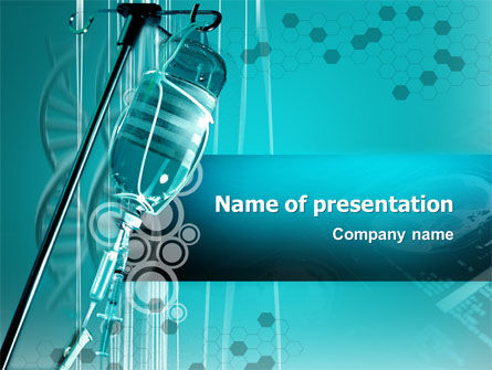 Medical: Medicine Dropper PowerPoint Template #02448