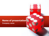 Business Concepts: Luck PowerPoint Template #02450