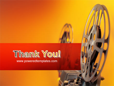 Film Projector PowerPoint Template Slide 20