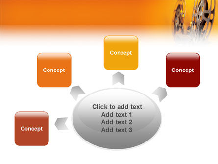 Film Projector PowerPoint Template Slide 7