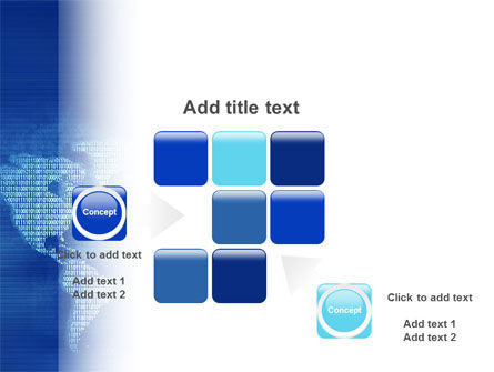 Digital Communication World PowerPoint Template Slide 16