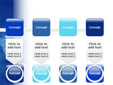 Digital Communication World PowerPoint Template#18