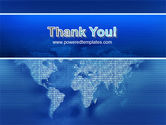 Digital Communication World PowerPoint Template#20