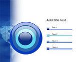 Digital Communication World PowerPoint Template#9