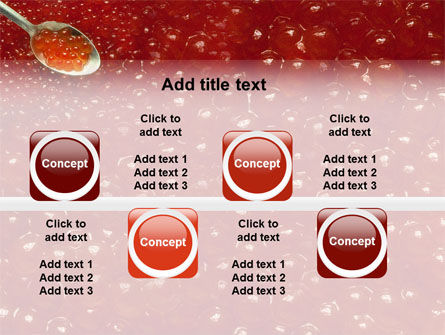 Caviar PowerPoint Template Slide 19