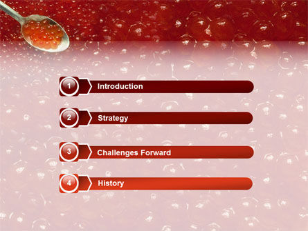 Caviar PowerPoint Template Slide 3
