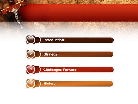 Crucifixion PowerPoint Template, Slide 3, 02456, Religious/Spiritual — PoweredTemplate.com
