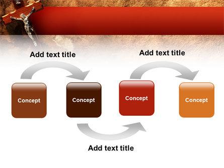 Crucifixion PowerPoint Template, Slide 4, 02456, Religious/Spiritual — PoweredTemplate.com