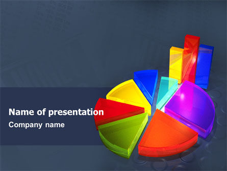 Financial/Accounting: Pie Chart PowerPoint Template #02458