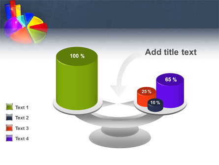 Pie Chart PowerPoint Template Slide 10