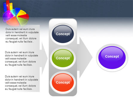 Pie Chart PowerPoint Template Slide 11