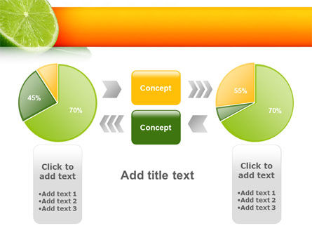 Lime PowerPoint Template Slide 11