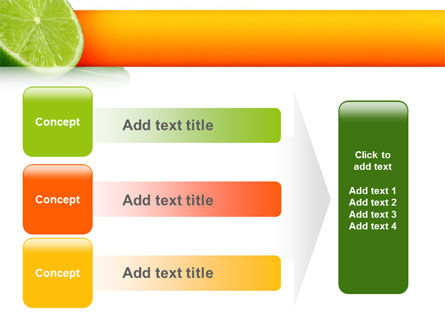 Lime PowerPoint Template Slide 12