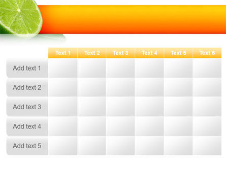 Lime PowerPoint Template Slide 15