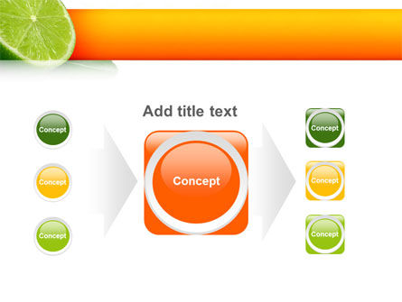 Lime PowerPoint Template Slide 17