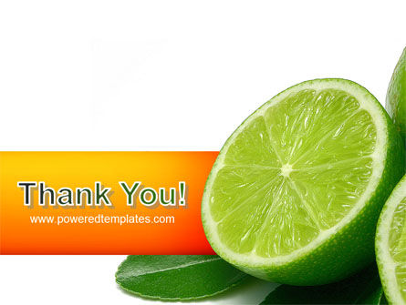 Lime PowerPoint Template Slide 20