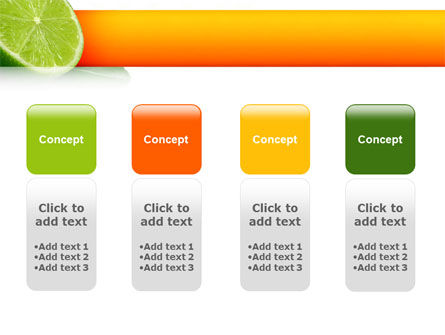 Lime PowerPoint Template Slide 5