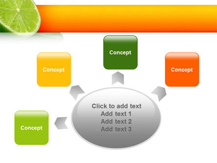 Lime PowerPoint Template Slide 7