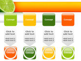 Lime PowerPoint Template#18